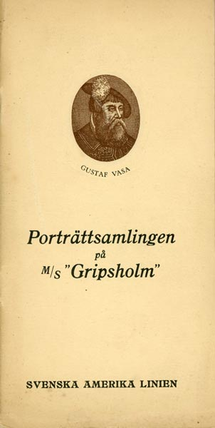 Portrait Collection at the MS Gripsholm 1926