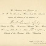 Launching Gripsholm 241126  dinner invitation