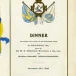 Launching Gripsholm 241126 dinner menu