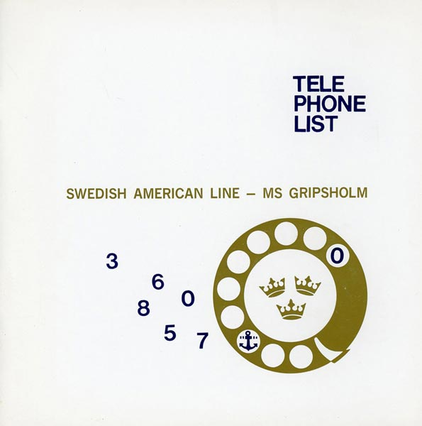 Telephone List  1965