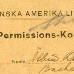 Permision card nr26