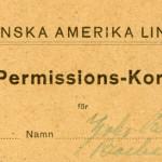 Permision card nr25