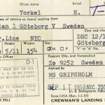 Crewmans landing permit