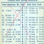 Timetable no30 1954