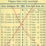 Timetable no34 1955