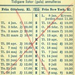 Timetable no35 1955