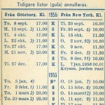 Timetable no38 1955