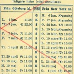 Timetable no47 1958