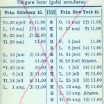 Timetable no52 1959