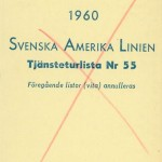 Timetable no55 1960