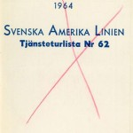 Timetable no62 1964