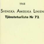 Timetable no72 1968