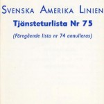 Timetable no75 1969