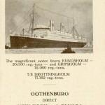 Schedule 1928-1929