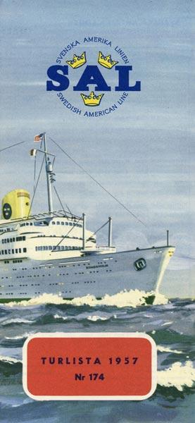 Calendar nr 174 1957