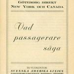 Vad passagerare säga 1926