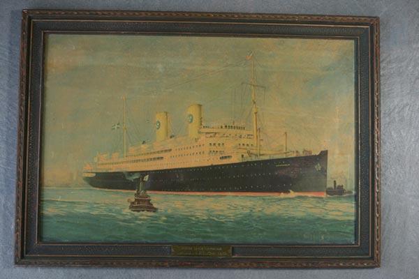 Poster Gripsholm 1925