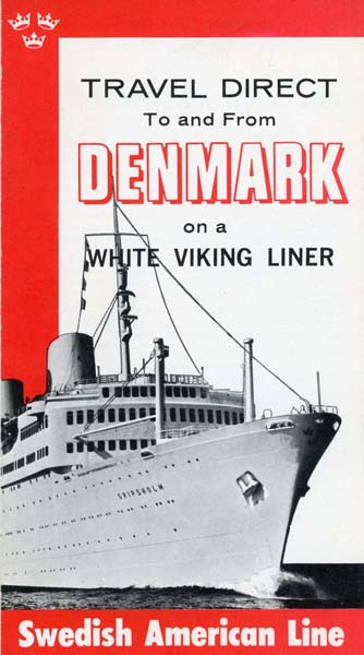 Brochure To and from Denmark (no date)
