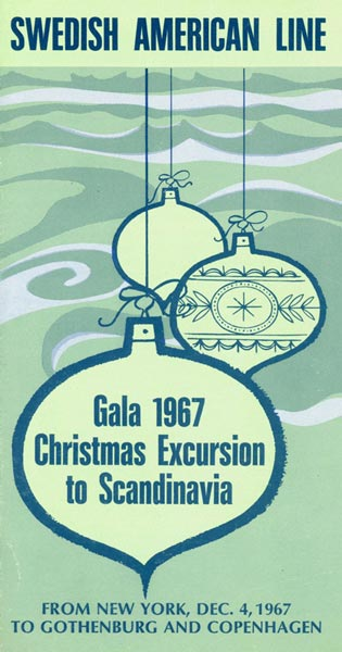 Brochure Christmas Excursion 1967
