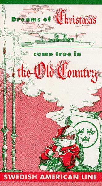Brochure Dreams of christmas 1950