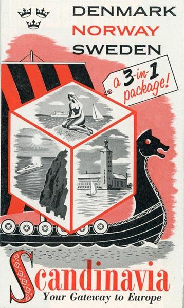 Brochure Scandinavia 1953