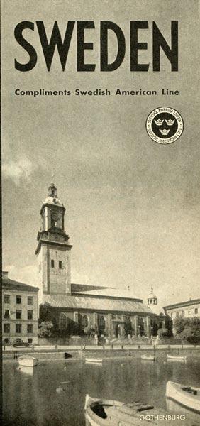 Brochure Sweden 1932
