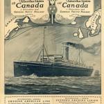 Brochure Till Canada 1925