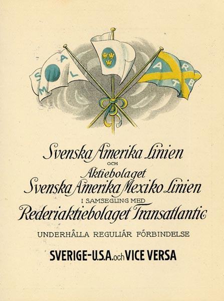 Scheduled services 1921