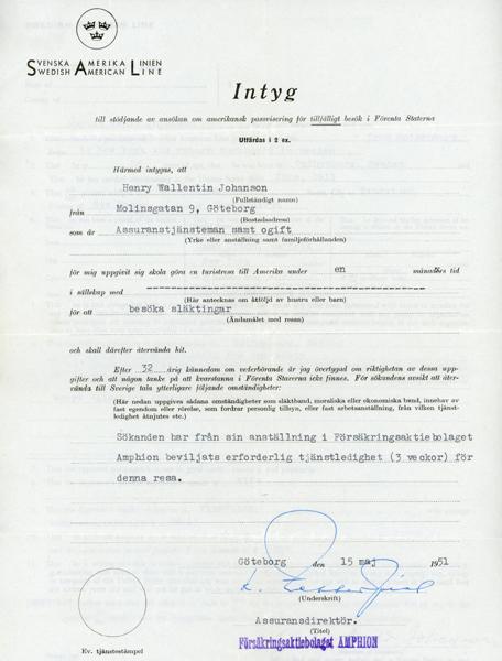 Certificate application for passport visas 510515