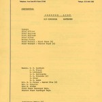 Commend list 1967