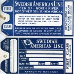Baggage tag First class (1)