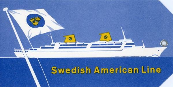 Baggage tag Kungsholm Cruise (1)
