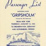 Passenger list 530115 NY-Gbg