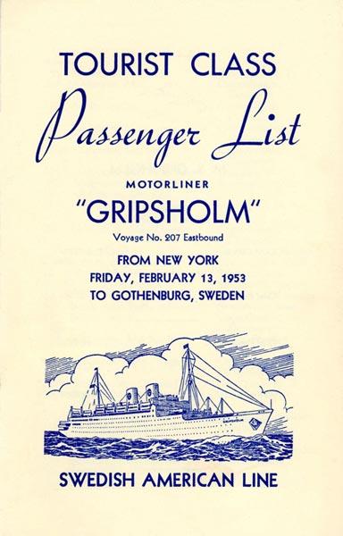 Passenger list 530213 NY-Gbg