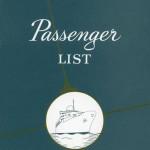 Passenger list 550920 NY-Gbg