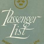 Passenger list 570619 Cph-NY