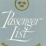 Passenger list 580617Gbg-NY