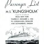 Passenger list 581204 NY-Gbg