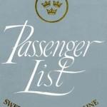 Passenger list 590815 Gbg-NY