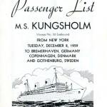 Passenger list 591208 NY-Gbg