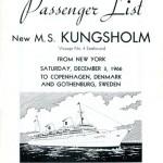 Passenger list 661203 NY-Gbg