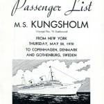 Passenger list 700528 NY-Gbg