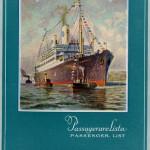 Passenger list 320901 Gbg - NY