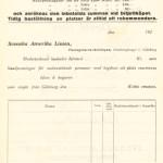 Order form 1921