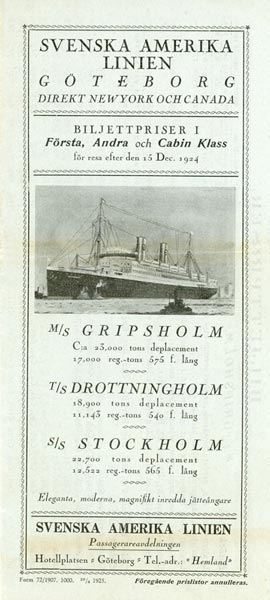 Ticket prices 1925