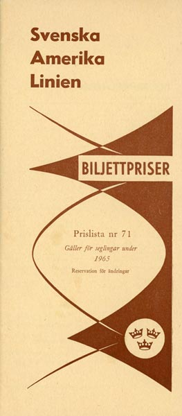 Ticket prices no7 1965
