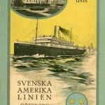 Passenger list 221012 Gbg-NY