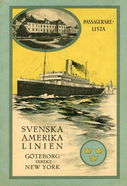 Passenger list 230526 Gbg-NY