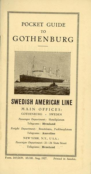 Pocket guide 1927