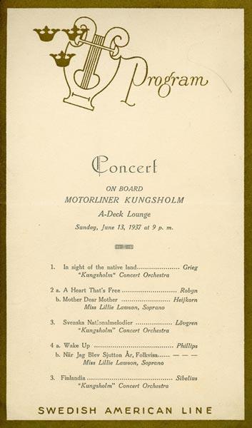 Program Concert 370613